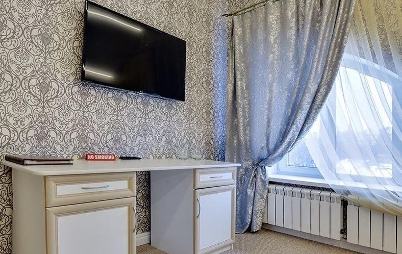 """Эко-отель """"Богородск"""" Московская область Номер """"Люкс"""" 2-комнатный с джакузи, фото 5"""
