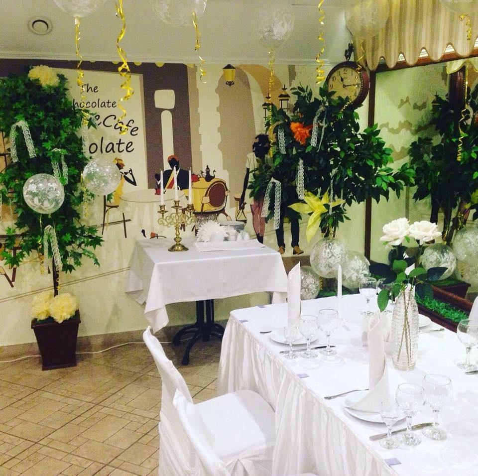 Дом отдыха «Экотель Снегирек» Московская область Малый зал ресторана, фото 6