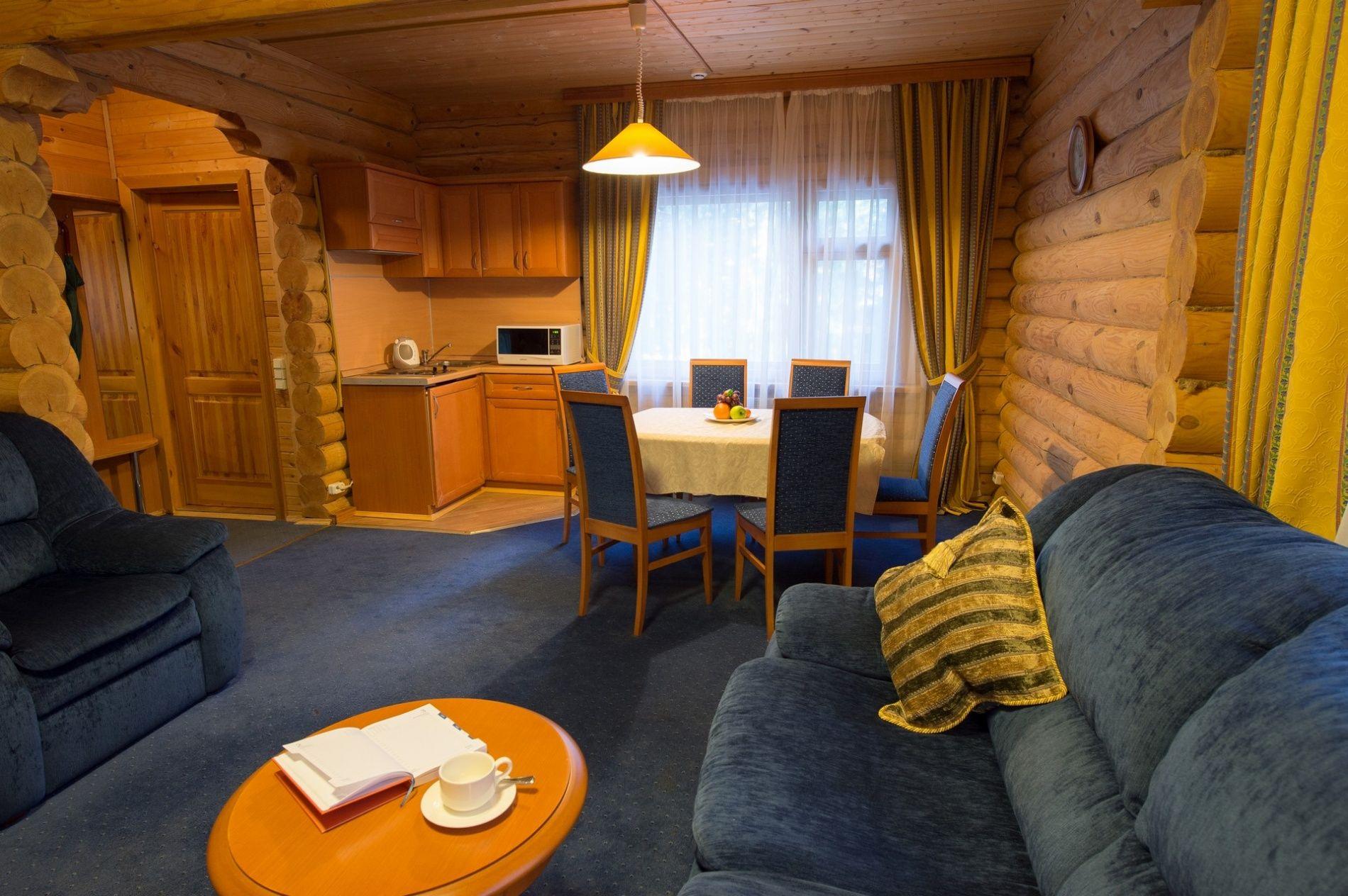Дачный отель «Истра Holiday» Московская область Коттедж «Люкс» с мини-кухней, фото 4