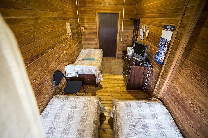 Туристический комплекс «Заимка Камза» Республика Алтай 3-местный номер, фото 1