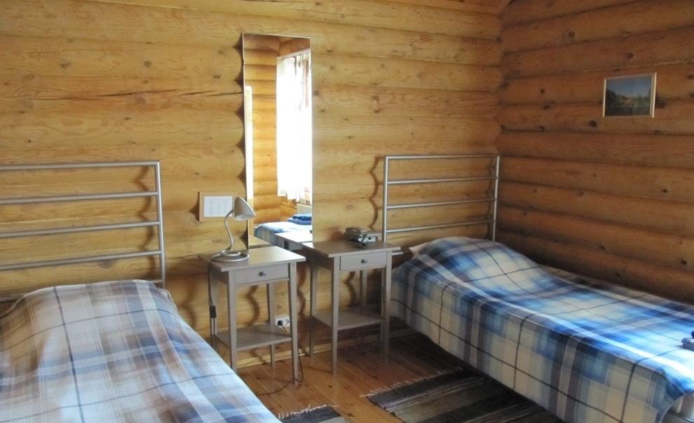 База отдыха «Лесное озеро» Республика Карелия Номер 2-местный в Гостевом доме, фото 1