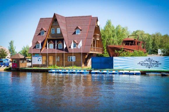 База отдыха «Троицкое» Московская область Эконом номер в гостинице Причал, фото 1