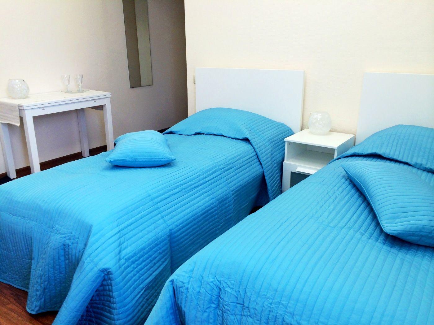 """База отдыха """"Спорт"""" Пермский край Номер с двумя раздельными кроватями в SPA Отеле, фото 2"""