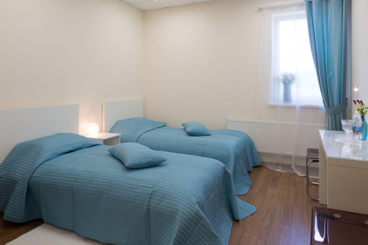"""База отдыха """"Спорт"""" Пермский край Номер с двумя раздельными кроватями в SPA Отеле, фото 3"""