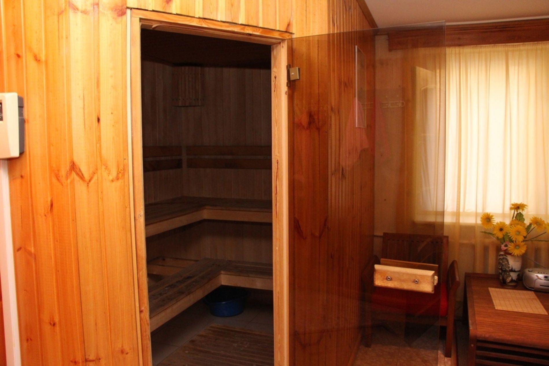 База отдыха «Залив» Нижегородская область Номер VIP (91 кв.м) с сауной, фото 4