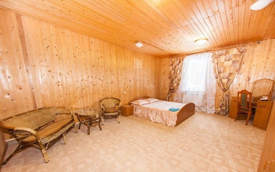 """Гостиничный комплекс """"Синяя Осока"""" Ивановская область Номер в гостинице, фото 4"""