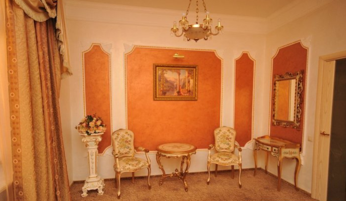 Гостиница Домбай Palace Карачаево-Черкесская Республика 3-х местный 2-х комнатный номер, фото 2