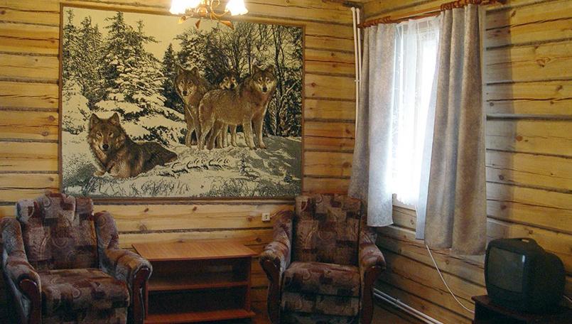 База отдыха «Сурские зори» Чувашская Республика Номер «Полулюкс» в доме «Дуся» , фото 2