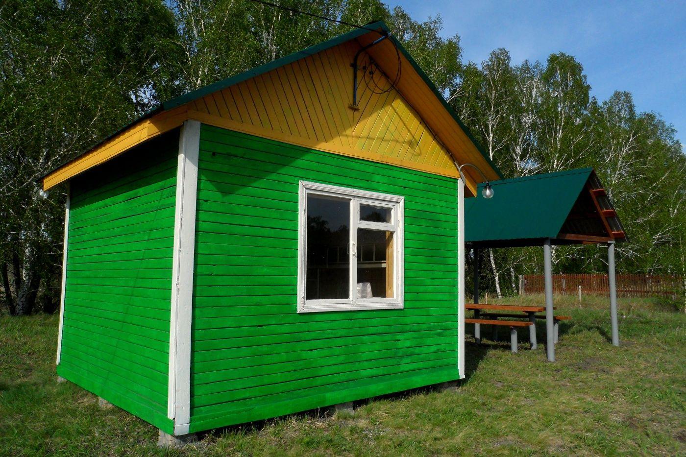 """База отдыха """"Зотино"""" Омская область Туристический домик, фото 1"""