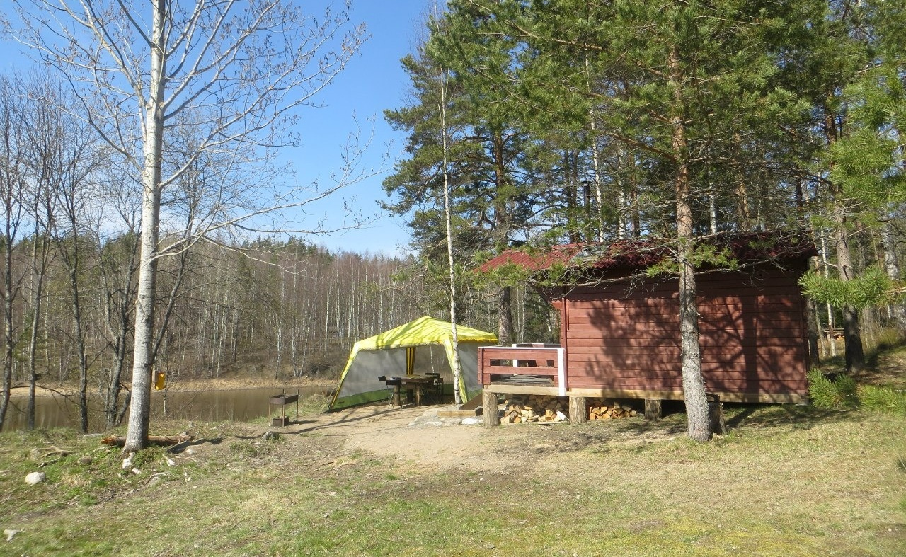 База отдыха «Рантала» Республика Карелия 2-местный домик, фото 1