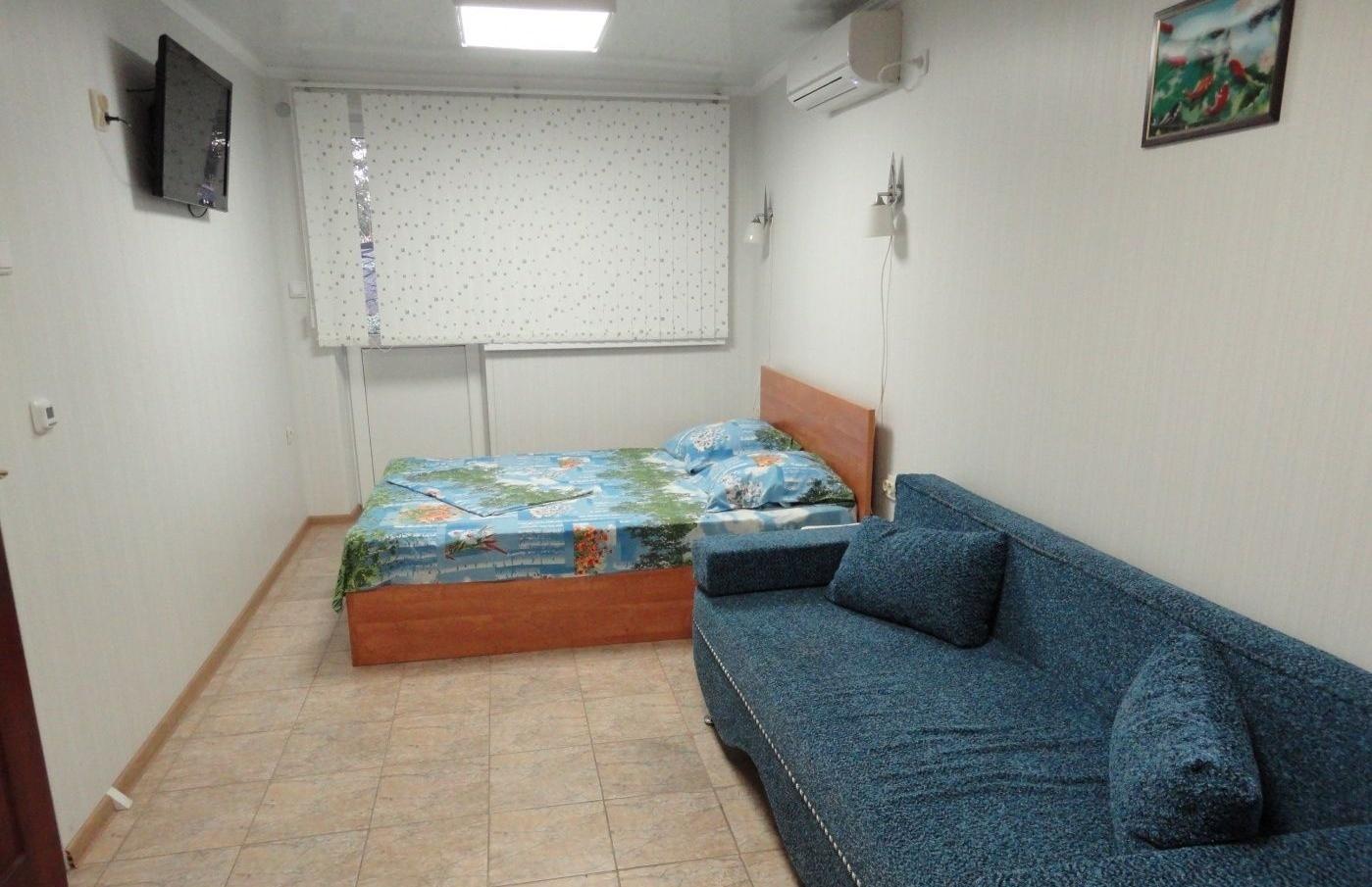 База отдыха «Юный каспиец» Астраханская область 2-местный номер на первом этаже корпуса «Юнга», фото 1