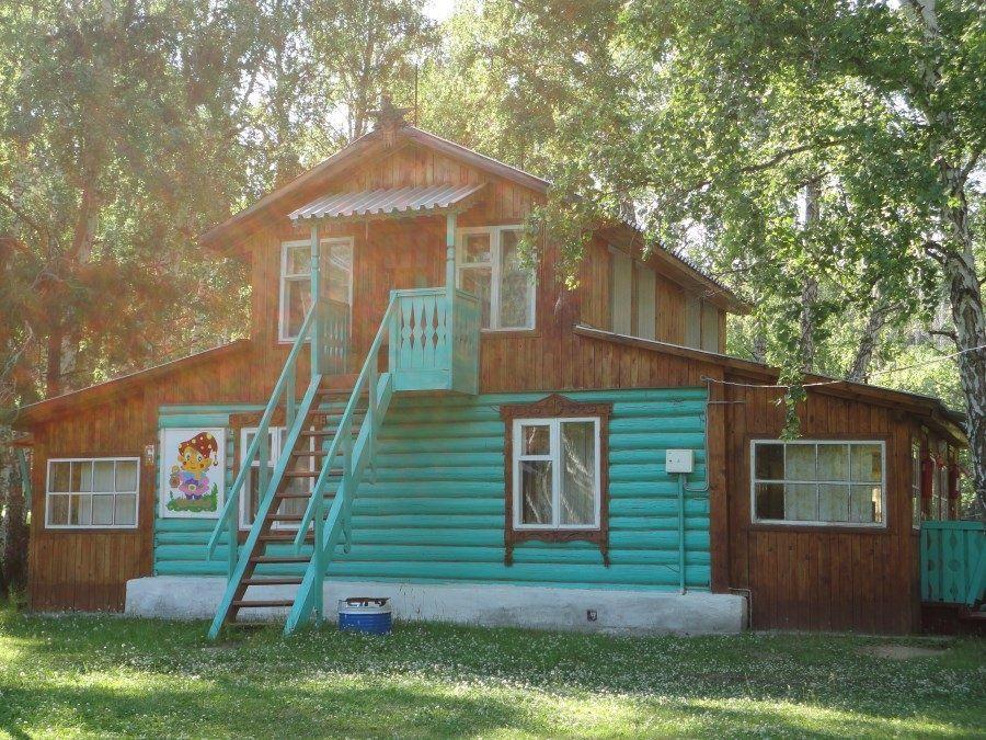 База отдыха «Обские просторы» Новосибирская область 3-местный домик (летний), фото 1