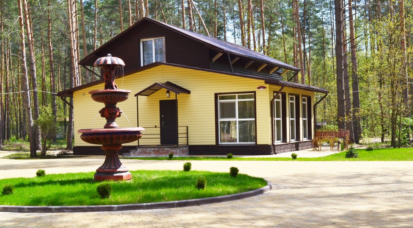 """База отдыха """"Зеленый Бор"""" Брянская область, фото 1"""