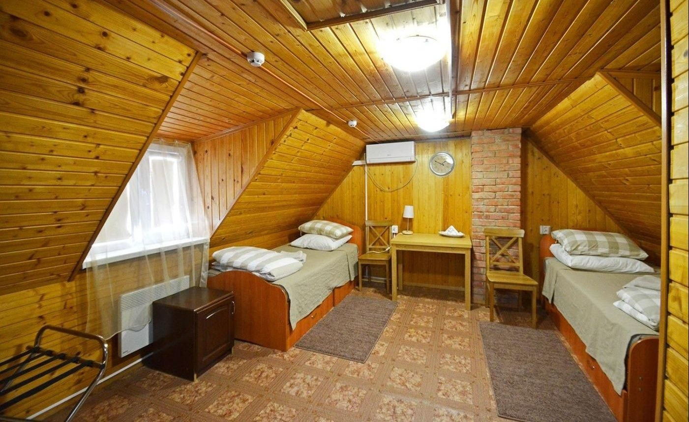 База отдыха «Нерестина» Астраханская область Номер «Стандарт» 2-местный с удобствами, фото 1