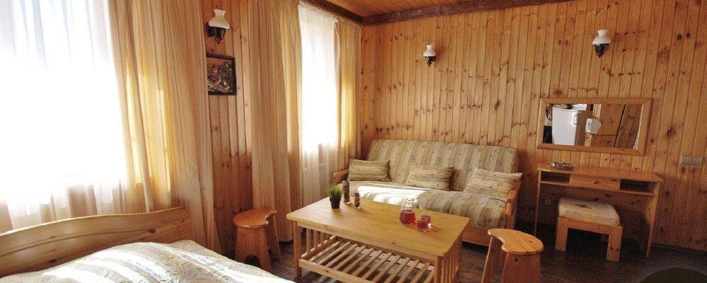 База отдыха «13 Кордон» Ростовская область Номер 4-местный «Семейный», фото 2
