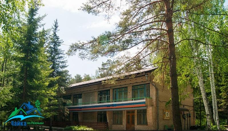 База отдыха «Чайка» Челябинская область Эконом номер в 2-этажном кирпичном корпусе, фото 1