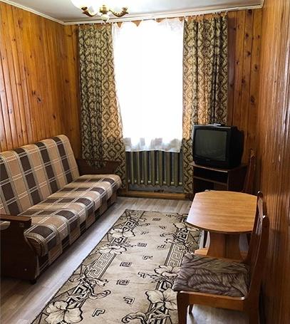 База отдыха «Чайка» Челябинская область Семейный 2-комнатный домик, фото 3