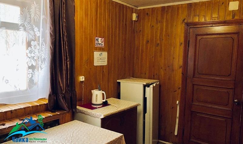 База отдыха «Чайка» Челябинская область Семейный 2-комнатный домик, фото 5