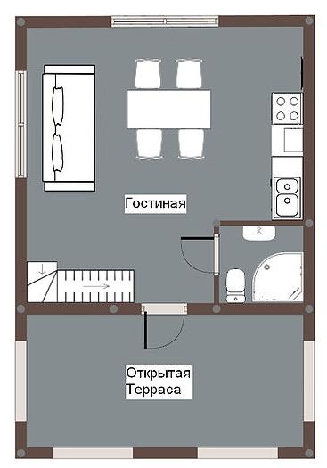База отдыха «Юромка» Владимирская область Семейный дом № 1, 2, фото 11