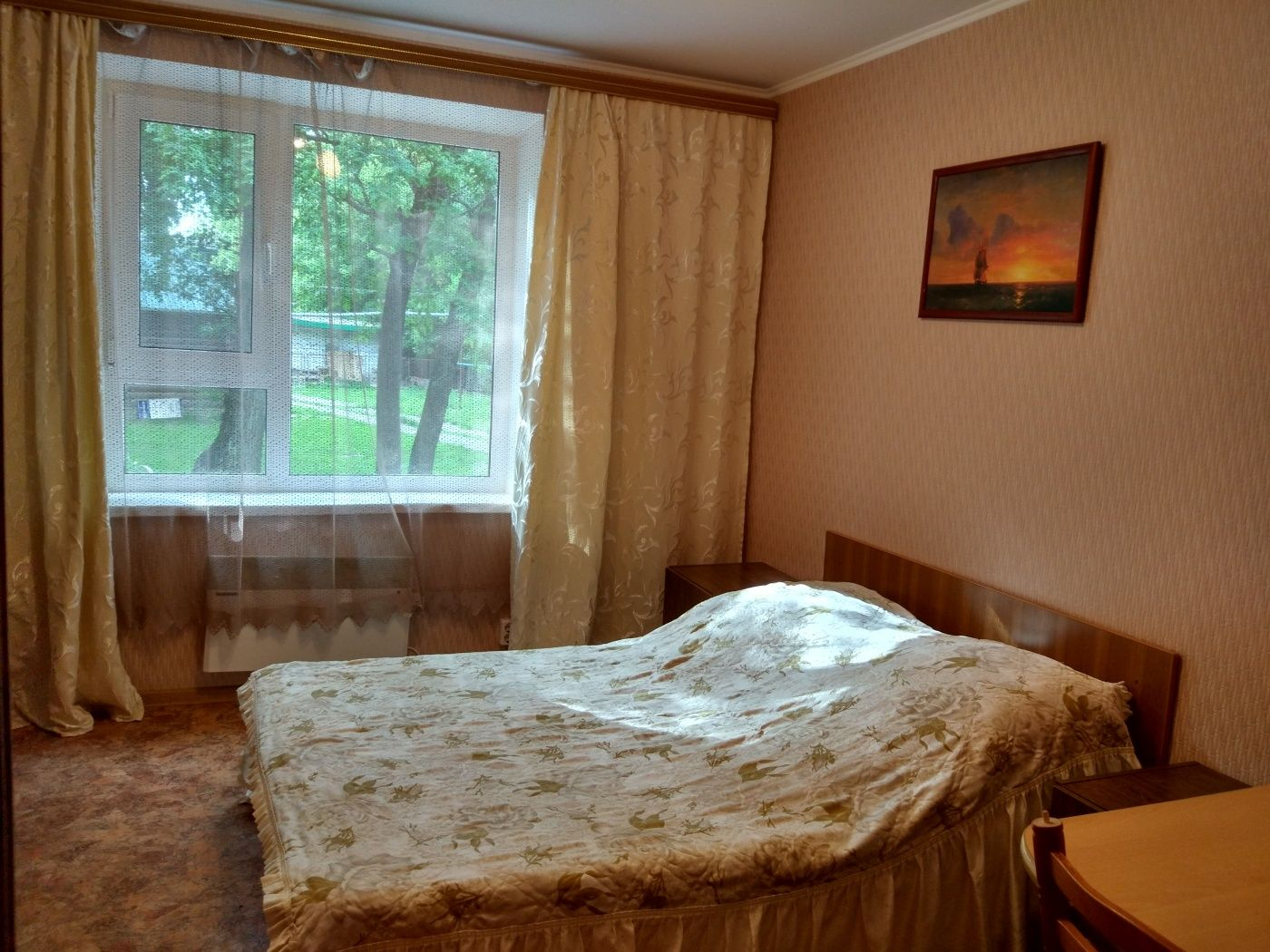 Турбаза «Домостроитель» Саратовская область 2-комнатный номер с удобствами (корпус № 1), фото 1