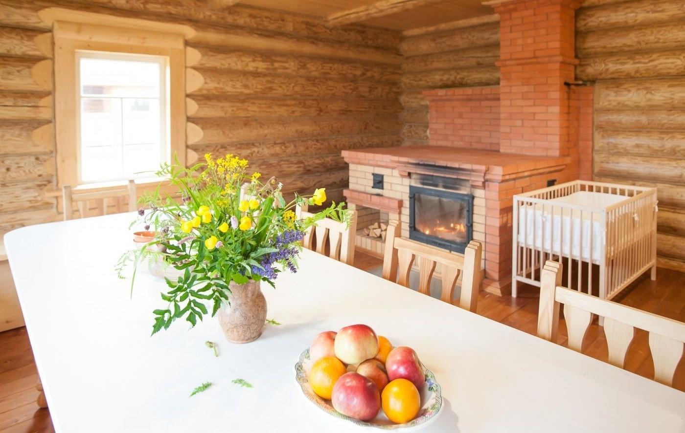"""База отдыха """"Старый Сиг"""" Тверская область Русский деревянный дом, фото 2"""