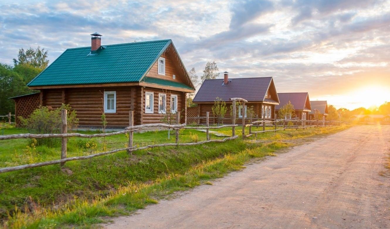 """База отдыха """"Старый Сиг"""" Тверская область Русский деревянный дом, фото 3"""