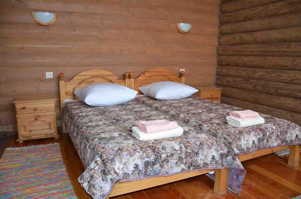 Туристический комплекс «Фрегат» Астраханская область Номер «Стандарт» в срубе, фото 2