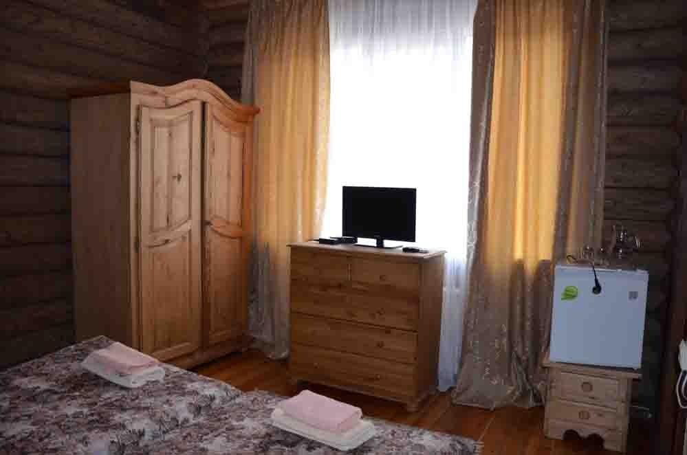 Туристический комплекс «Фрегат» Астраханская область Номер «Стандарт» в срубе, фото 6