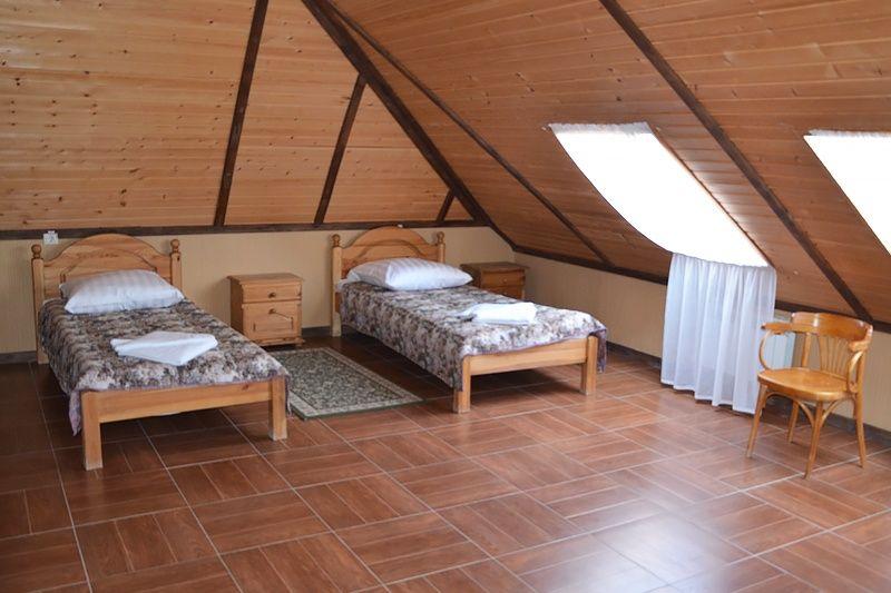 Туристический комплекс «Фрегат» Астраханская область Номер «Твин» в «Доме охотника» , фото 1