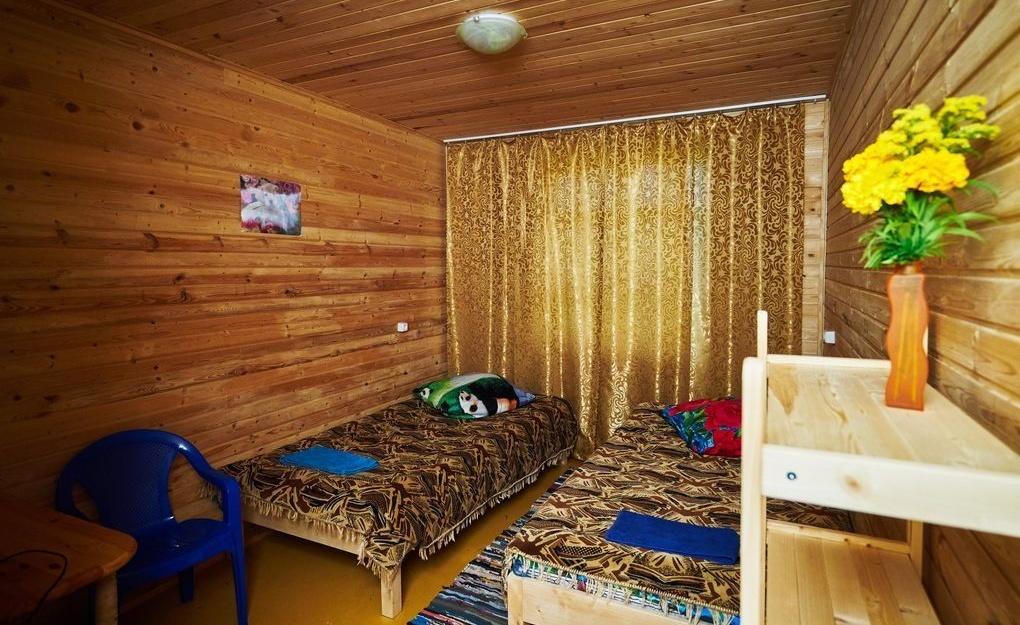 """Парк отдыха """"Сказка.Русь"""" Тверская область Номер 2-местный с двумя кроватями, фото 1"""