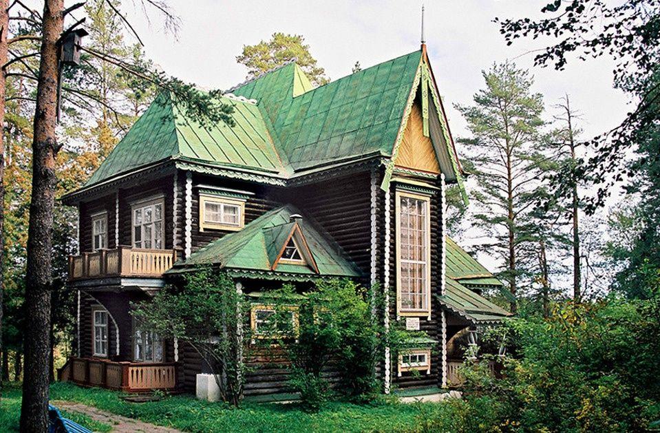 Оздоровительный комплекс «Тетьково» Тверская область 2-этажная дача № 5, фото 1