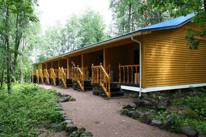 База отдыха «Робинзон» Ленинградская область 2-местный номер в гостинице-таунхаусе, фото 1