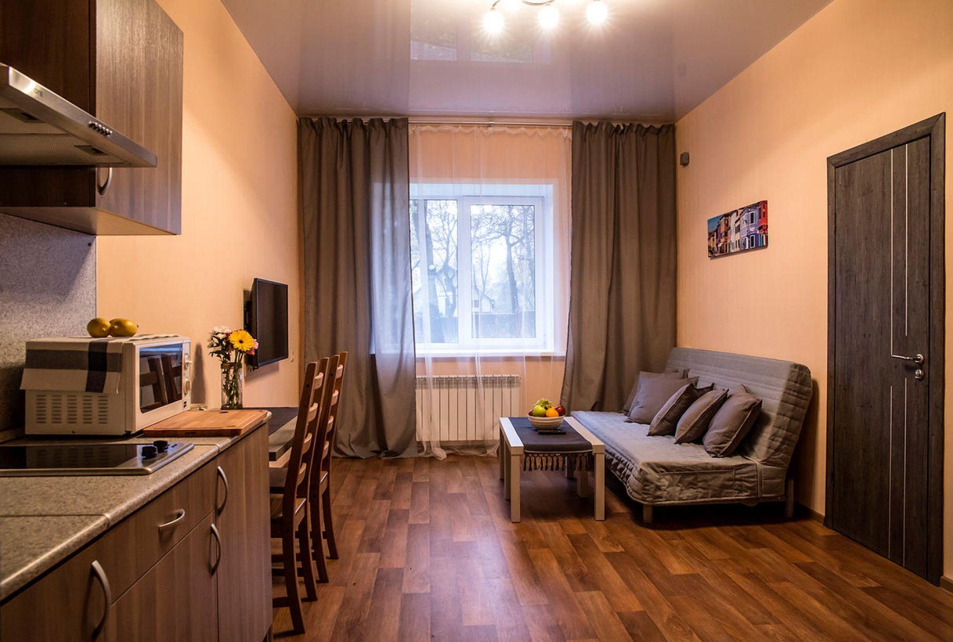 """Парк-отель """"Три Кота"""" Самарская область С кухней и одной кроватью, фото 1"""