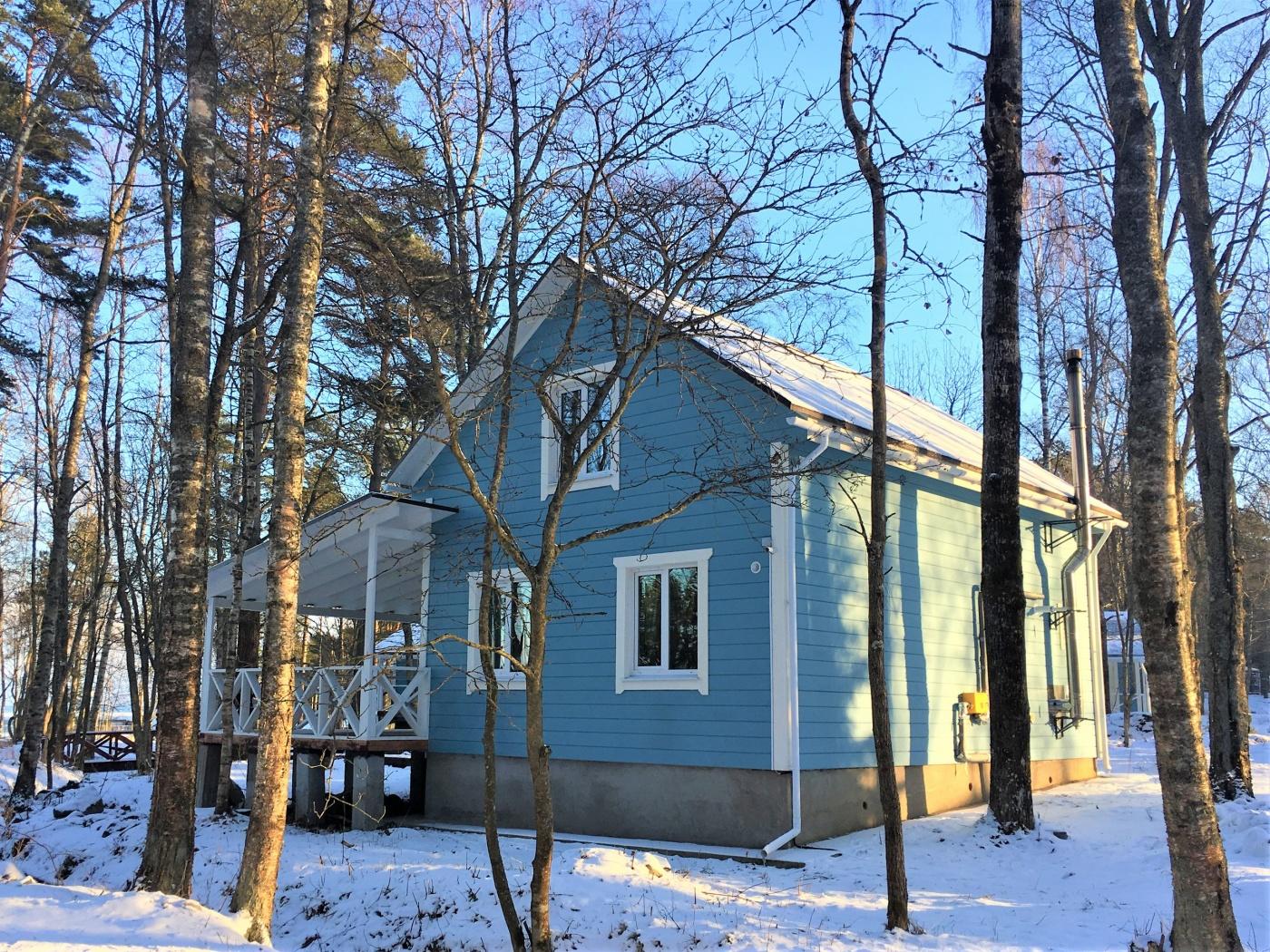База отдыха «Ладога озеро» Ленинградская область Дом у ручья, фото 9