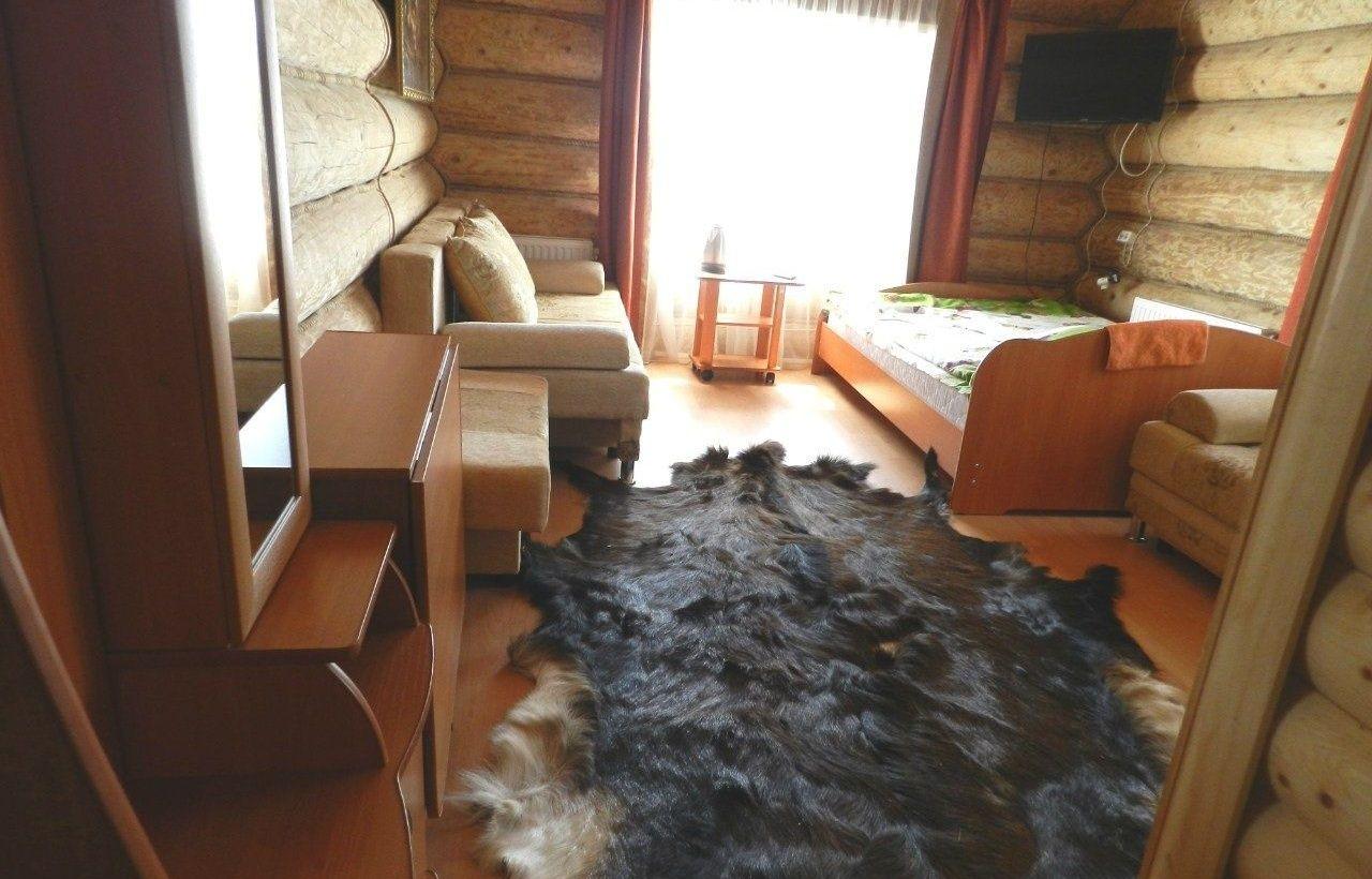 Эколого-туристический комплекс «Бреховский Луг» Пермский край Номер 5-местный в гостинице «Дом рыбака» , фото 1