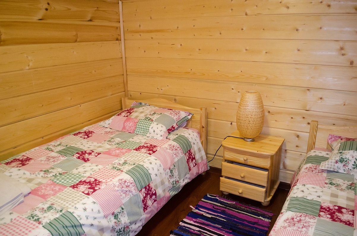 Загородный отель «Лесное озеро» Псковская область Lodge (Большой дом), фото 5