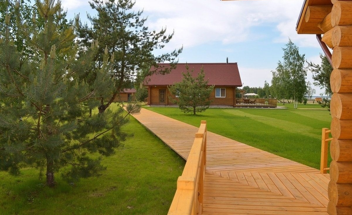 Загородный отель «Лесное озеро» Псковская область, фото 23