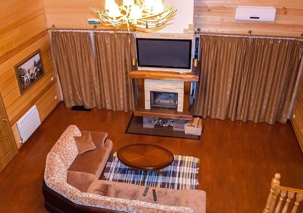 Загородный отель «Лесное озеро» Псковская область Lodge (Большой дом), фото 9