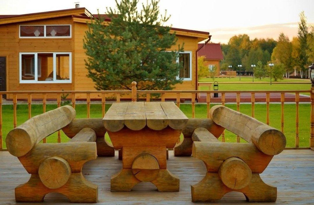 Загородный отель «Лесное озеро» Псковская область Lodge (Большой дом), фото 1