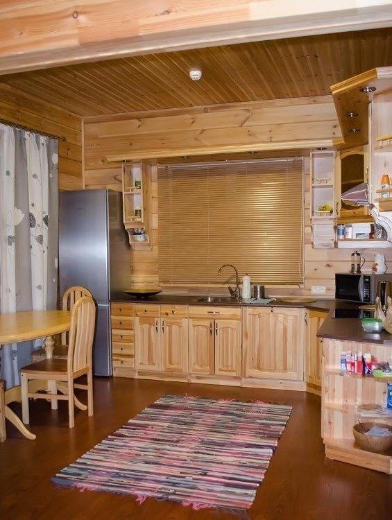 Загородный отель «Лесное озеро» Псковская область Lodge (Большой дом), фото 13