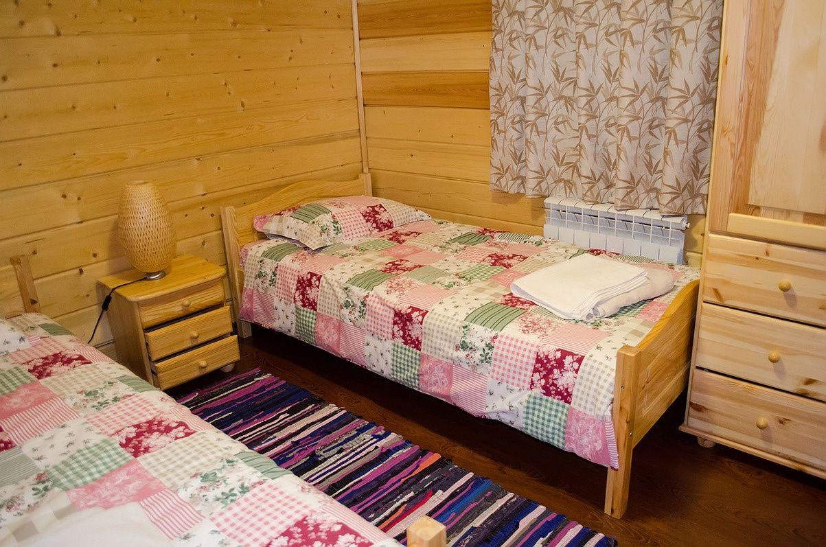 Загородный отель «Лесное озеро» Псковская область Lodge (Большой дом), фото 4