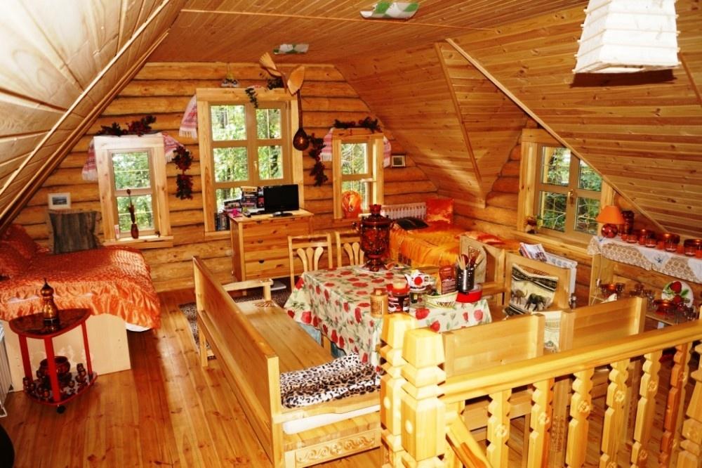 База отдыха «Живые родники» Нижегородская область Коттедж «Дом с купелью», фото 5