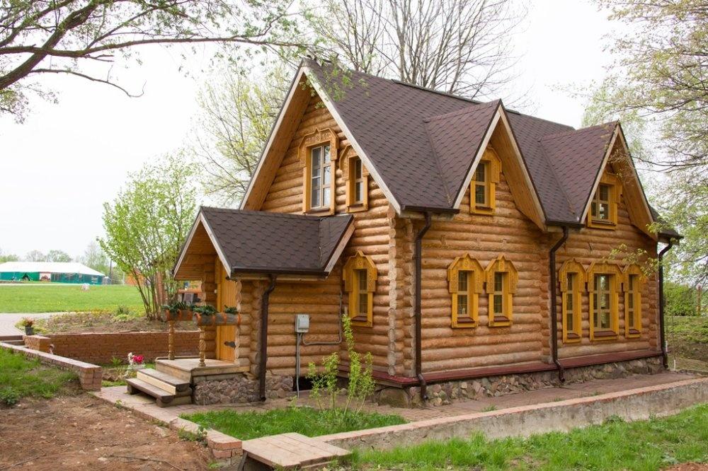 База отдыха «Живые родники» Нижегородская область Коттедж «Дом с купелью», фото 2
