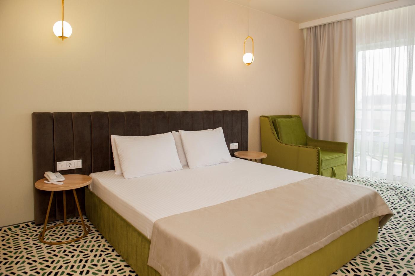 Отель «Aurum Family Resort & Spa» Краснодарский край Standard 2-местный (в корпусе), фото 1