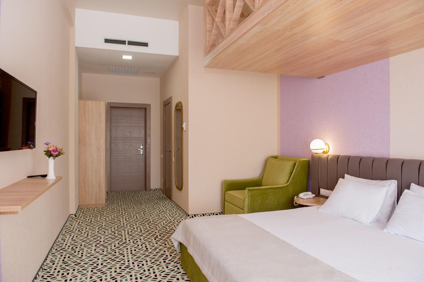 Отель «Aurum Family Resort & Spa» Краснодарский край Junior suite 2-местный , фото 2