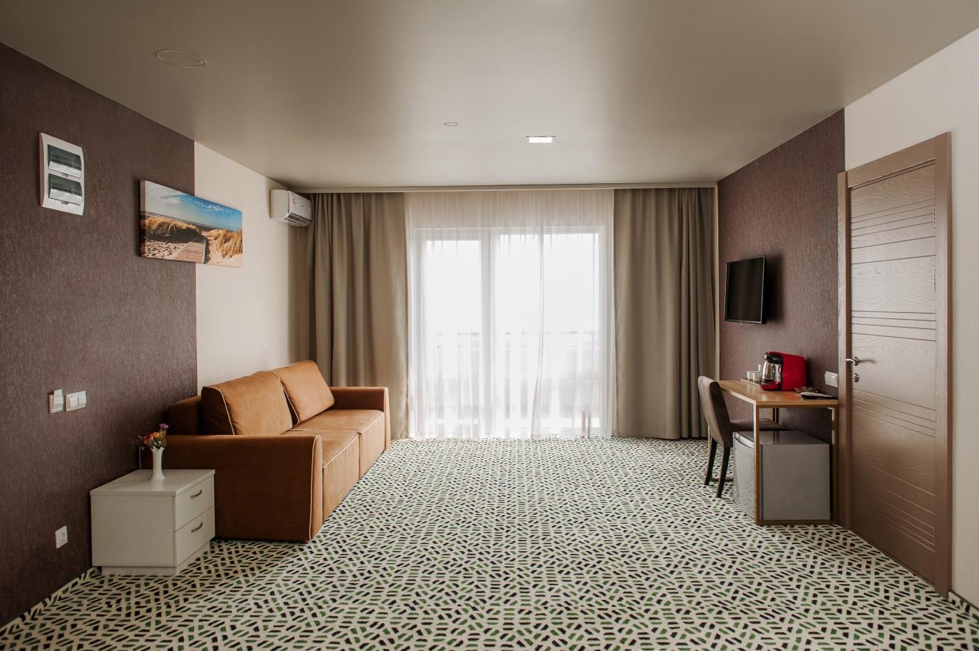 Отель «Aurum Family Resort & Spa» Краснодарский край Apartments Superior 2-местный 4-комнатный, фото 1