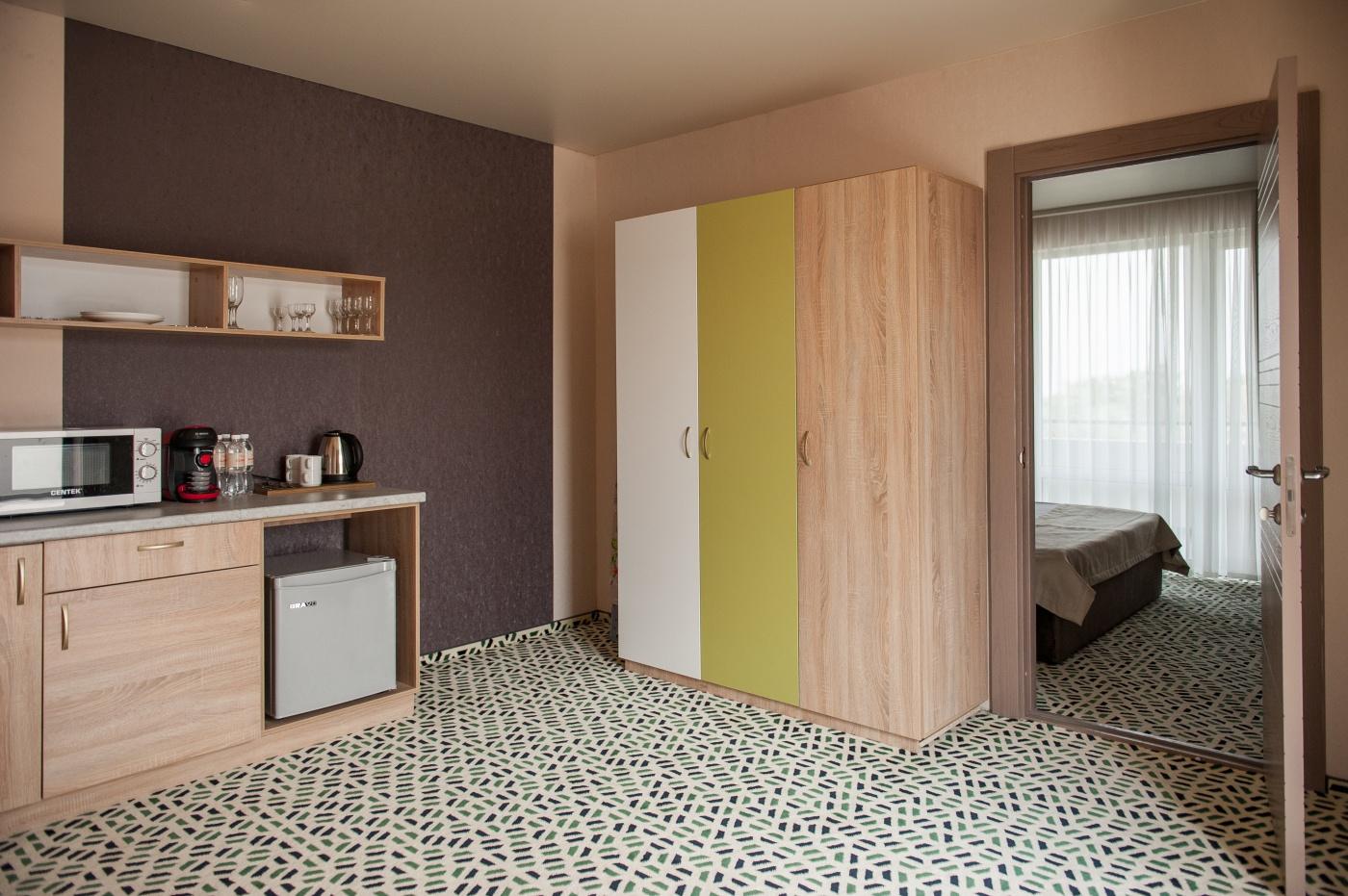 Отель «Aurum Family Resort & Spa» Краснодарский край Apartments 2-местный 3-комнатный, фото 3