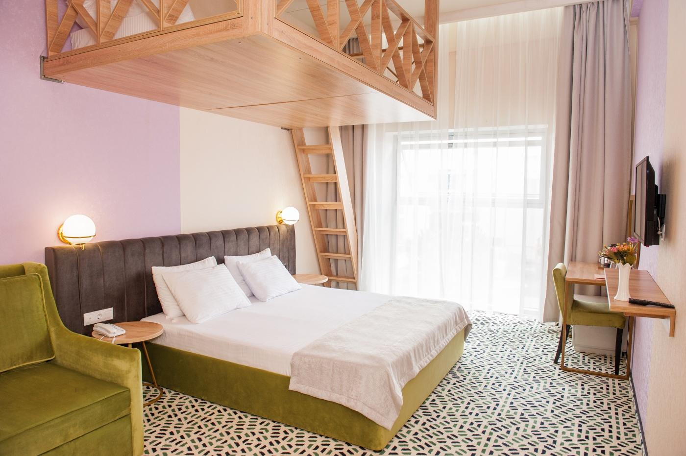 Отель «Aurum Family Resort & Spa» Краснодарский край Junior suite 2-местный , фото 1