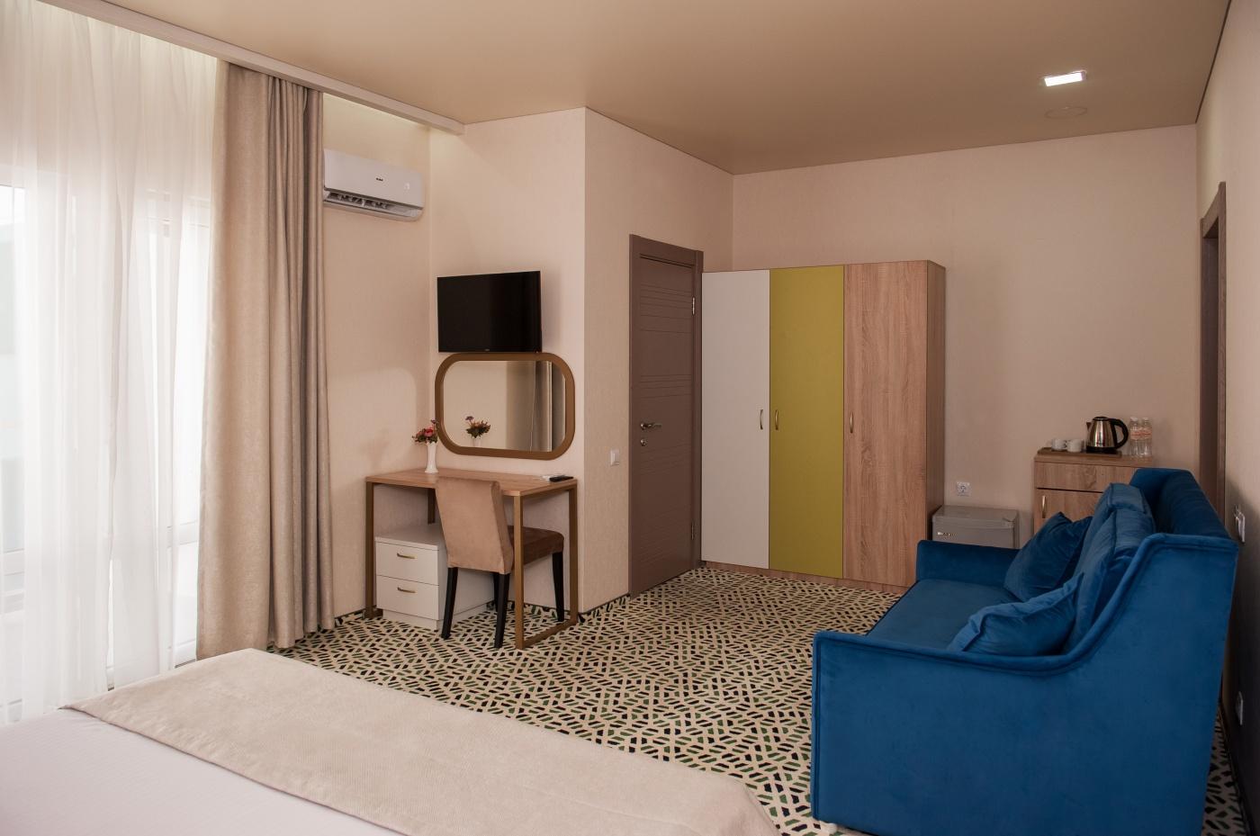 Отель «Aurum Family Resort & Spa» Краснодарский край Standard 2-местный с доп. местом (в коттедже), фото 3