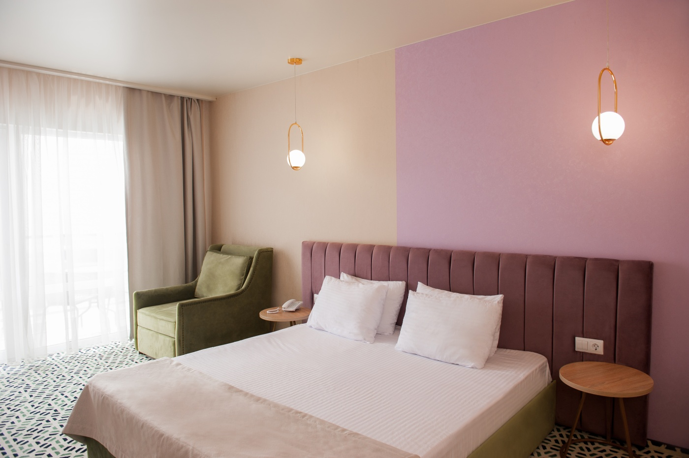 Отель «Aurum Family Resort & Spa» Краснодарский край Standard SV 2-местный (в корпусе), фото 1